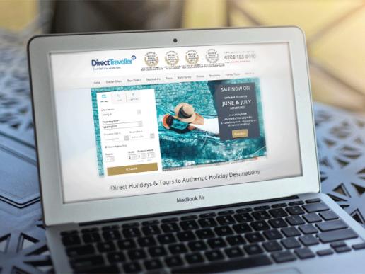 Travel technology web design and marketing