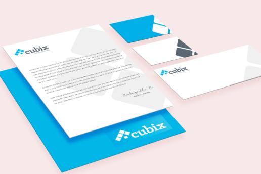 Cubix Estate Agency - Branding Logo design & marketing solutions