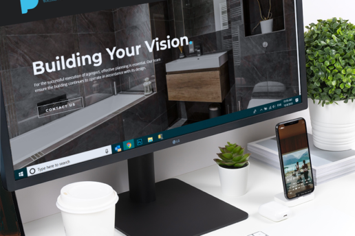 Construction Web Site Designer