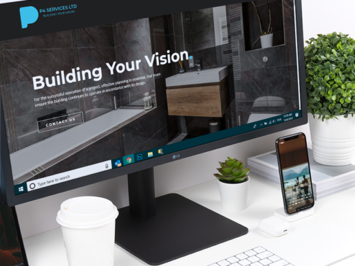 Construction Web Site Designer